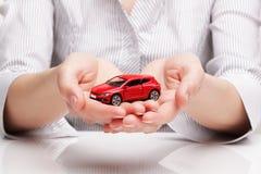 Ð-¡ AR in den Händen (Konzept) Lizenzfreie Stockfotos