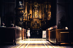Ð ¡ atholic教会 免版税图库摄影
