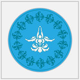 Ð  bstract kwiatu projekta logo Fotografia Stock