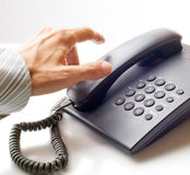 Ð-¡, das telefonisch alling ist stockbilder
