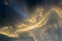 Ð'efore a tempestade Imagem de Stock