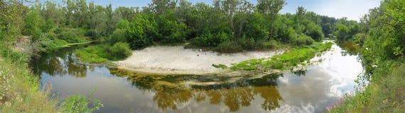 Ð'end rzeka Zdjęcie Royalty Free