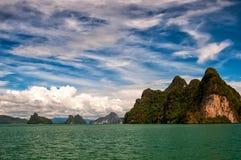 Ð•er einsame Insel Stockfotos