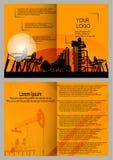 Ð'esign des brochures, présentations, jaunes Image stock
