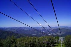 Ð-¡ hairlift auf dem Berg Lizenzfreies Stockbild