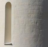 Ð ¡ hurch的窗口和墙壁 库存图片
