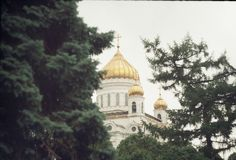 Ð ¡ hurch/Μόσχα Στοκ Εικόνες