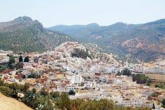 Ð-¡ ity von Moulay Idriss in Marokko Lizenzfreies Stockbild