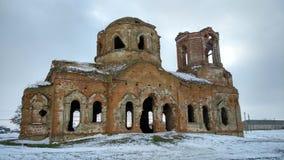 Оld ruinierte Kirche Stockfotos