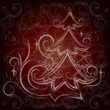 Ð- lyu Muster auf einem dunklen Hintergrund lizenzfreie abbildung