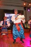 Ð ¾ n阶段是舞蹈家和歌手,演员,合唱成员,芭蕾舞团的舞蹈家,乌克兰哥萨克合奏的独奏者 库存照片