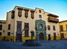 Дом Колумбуса стоковые изображения