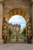 Дом Chatsworth в Дербишире стоковое изображение rf