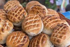 Домодельные свежо испеченные scones в Венгрии стоковая фотография rf