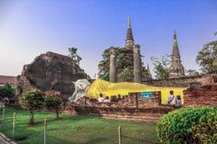 Достопримечательности в провинции Utaya имеют большого Будды стоковое изображение