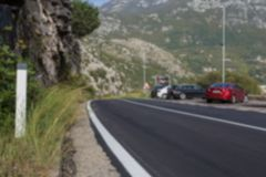 дорога горы к иллюстрация вектора