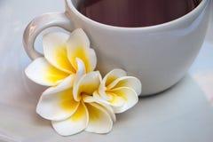 Ð-¡ oben des Tees oder des Kaffees lizenzfreies stockfoto
