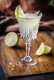 Ð-¡ ocktail mit Kalk Stockfotografie