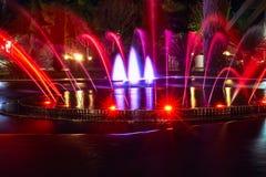 Ð ¡ olored喷泉 库存图片
