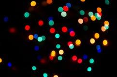Ð ¡ olored światła Obrazy Stock