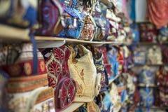 Ð ¡ olorful τσάντες, Bazaar Στοκ Εικόνα