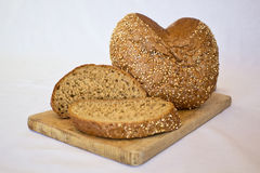 Ð  ome-που γίνεται το ψωμί στοκ φωτογραφία