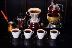 Ð ¡ omhoog van koffie Stock Afbeelding