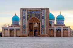 Ð ¡ omplex Khast-Imom在塔什干,乌兹别克斯坦 免版税库存图片