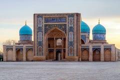 Ð-¡ omplex Khast-Imom i Tasjkent, Uzbekistan royaltyfri bild