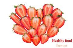 Ð ¡ omposition心形草莓切片 查出 无缝的草莓 背景许多饺子的食物非常肉 被限制的日重点例证s二华伦泰向量 宏指令 库存图片