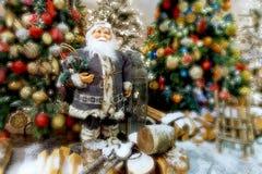 Ð-¡ omposition med Santa Claus Royaltyfri Bild