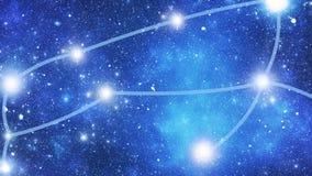 Ð ¡ onstellation Canis Major (CMa) vector illustratie