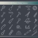Ð ¡ onstruction i narzędzie ikony Obrazy Stock