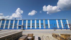 Ð ¡ orporation GAZPROM in Novy Urengoy, YANAO, 6 Juni, 2011 Stock Afbeelding