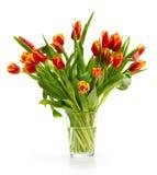 Ð'ouquet van oranje tulpen royalty-vrije stock foto