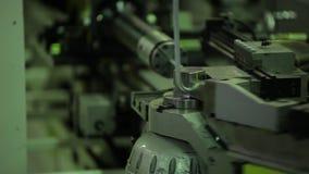 Ð•quipment para los tubos de doblez del metal, barras almacen de metraje de vídeo