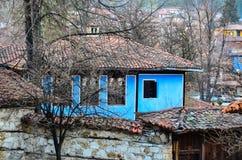 Тraditional保加利亚人房子 库存图片