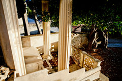 Ð-¡ rypt, Menton, Frankreich, Cote d'Azur Lizenzfreies Stockbild