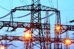 Ð•sous-station lectric Image stock