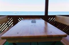 Ð  strandkoffie Stock Afbeelding