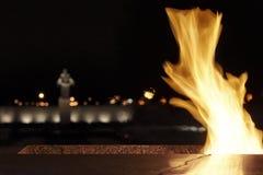 Ð•ternal Flamme Stockfotografie
