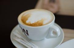 Ð-¡ upp av cappuccino Royaltyfri Foto