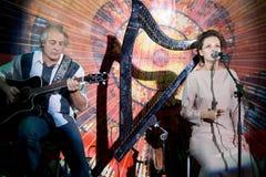 Ðellawes, chanteur folklorique russe Images libres de droits
