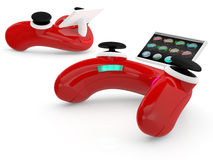 Ðideo Spielcontroller Stockbild