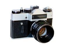 Ðld 35mm filmcamera Stock Afbeelding