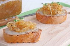 Ðnion marmalade Obraz Stock