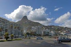 Ðorning in Cape Town Lizenzfreies Stockfoto