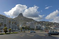 Ðorning in Cape Town Royalty-vrije Stock Foto