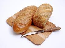 Ðread y cuchillo Fotografía de archivo