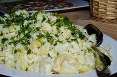 Салат весеннего овоща стоковое изображение
